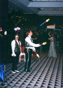 Juggling at the Wrthington Hotel